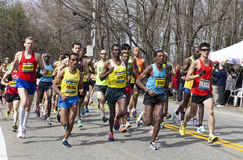 De Marathon 2013 van Boston Stock Foto's