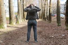 De mannelijke muziek van de straatmanier Stock Foto's