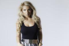 De Mannequin Dress Isolated van blondelatina Royalty-vrije Stock Foto's
