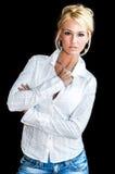 De Mannequin van de blonde Royalty-vrije Stock Foto