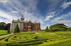 De manor en de tuinen van Adare Stock Foto's
