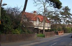 De Manor van Tudor Royalty-vrije Stock Afbeelding