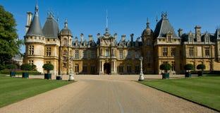 De manor van Waddesdon Stock Foto's