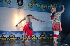 De Manoradans is een traditionele kunst van dansprestaties van het Zuiden royalty-vrije stock foto's