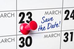 23 de março Fotografia de Stock