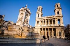 14 de março de 2015: Fotos da universidade de Paris, França, dentro Imagens de Stock