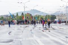 3 de março de 2015 maratona da harmonia em Genebra switzerland Foto de Stock