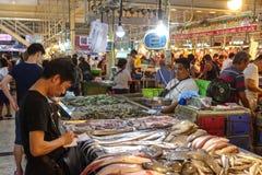 25 de março de 2017 no mercado de produto fresco de Cartima Foto de Stock