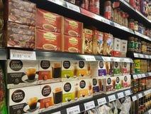 4 de março de 2017 Sam& x27; s Groceria em NU Sentral Kuala Lumpur Fotografia de Stock