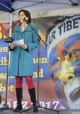10 de março dia 2017 da insurreição em Tibet, Berna switzerland Fotografia de Stock Royalty Free