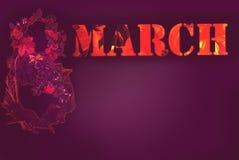 8 de março dia das mulheres Fotos de Stock Royalty Free