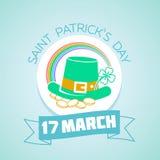 17 de março dia de Patricks Imagem de Stock