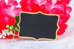 8 de março, dia internacional do ` s das mulheres Quadro com flores cor-de-rosa Copie o espaço Foto de Stock Royalty Free