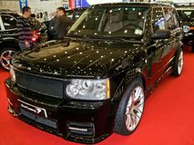 31 de março de 2015, Kiev Ônix Range Rover fotos de stock royalty free