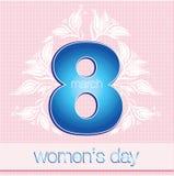8 de março o dia das mulheres Imagem de Stock