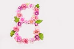 8 de março - o dia das mulheres internacionais Imagens de Stock Royalty Free