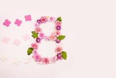 8 de março - o dia das mulheres internacionais Imagem de Stock Royalty Free