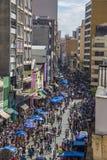 25 DE Março Street - Sao Paulo - Brazilië Royalty-vrije Stock Fotografie