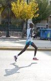 De marathon 2008 van Athene stock fotografie
