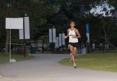 De Marathon 2008 van Singapore Stock Foto's