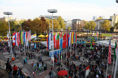 De Marathon 2010 van Frankfurt Royalty-vrije Stock Afbeeldingen