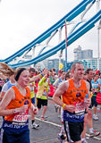 De Marathon 2010 van Londen Stock Foto's