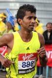 De marathon 2010 van Londen. Stock Foto's