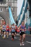 De marathon 2010 van Londen. Royalty-vrije Stock Fotografie