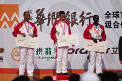 De marathon 2011 international de Zhuhai demi Image stock
