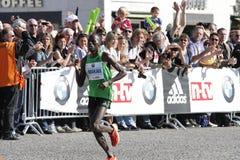 De Marathon 2011 van Berlijn Stock Afbeelding