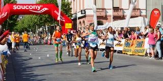 De Marathon 2011 van Gutenberg in Mainz, Duitsland Royalty-vrije Stock Foto
