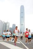 De Marathon 2013 van Hong Kong Stock Afbeeldingen