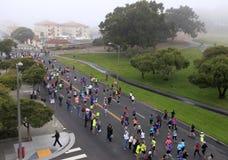 De Marathon Nike van vrouwen Royalty-vrije Stock Foto