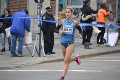 De Marathon van Ana Dulce Felix Elite Runner NYC Stock Afbeelding