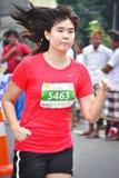 De Marathon 2013 van Bali Stock Fotografie