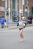 De Marathon van Blake Russell Elite Runner NYC Stock Foto