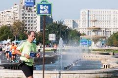 De marathon van Boekarest Royalty-vrije Stock Foto's