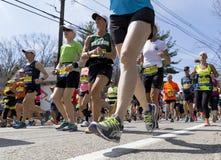 De Marathon van Boston Royalty-vrije Stock Foto's