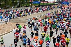 De Marathon van Chicago Stock Afbeeldingen