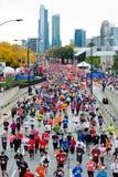 De Marathon van Chicago Stock Foto's