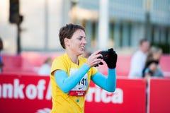 2013 de Marathon van Chicago Stock Afbeelding