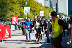 2013 de Marathon van Chicago Stock Foto's