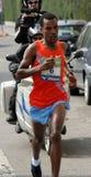 De Marathon van de Stad van Milaan. 4de Plaats in actie Royalty-vrije Stock Afbeeldingen