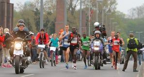 De Marathon van Duesseldorf Royalty-vrije Stock Afbeeldingen