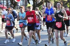 De Marathon van Houston Stock Afbeeldingen