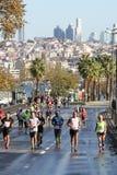 38 De Marathon van Istanboel Stock Fotografie