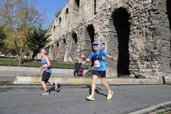 38 De Marathon van Istanboel Stock Foto's
