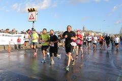 38 De Marathon van Istanboel Royalty-vrije Stock Afbeelding
