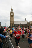 De Marathon van Londen, 2010 Stock Fotografie
