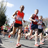 De Marathon van Londen, 2012 Stock Afbeeldingen